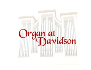 Organ at Davidson Logo