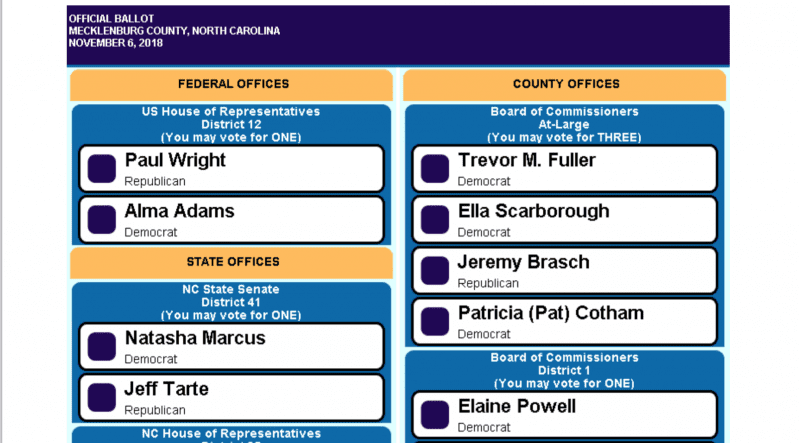 Election Results – How Davidson Voted | News of Davidson