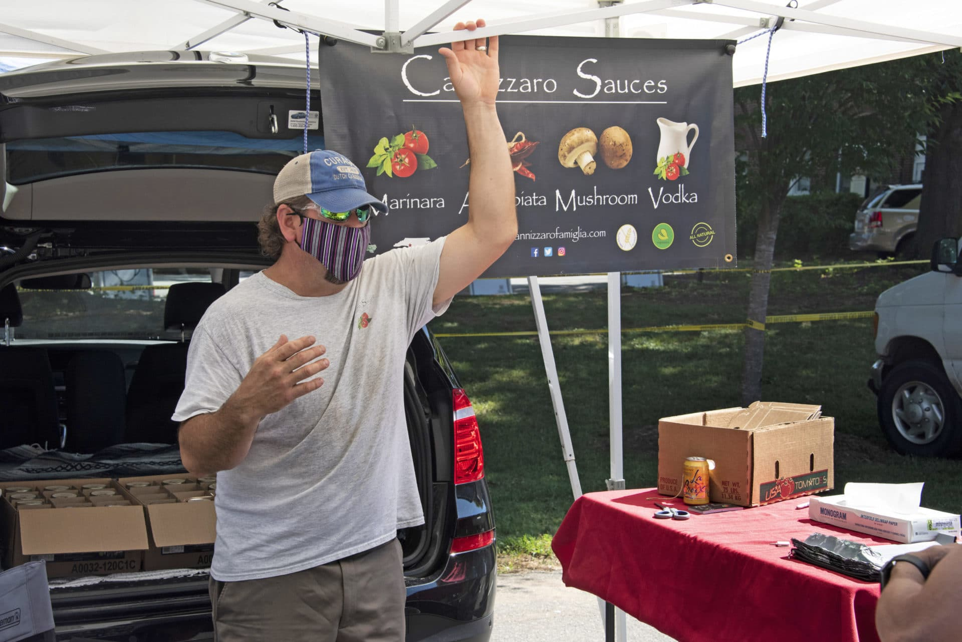 Cannizzaro Sauces offered a variety of authentic Italian sauces to shoppers.